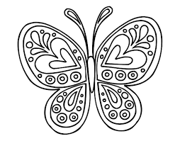 22 Awesome Butterfly Mandala Coloring Pages Images