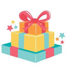 Birthday Present PNG Pic