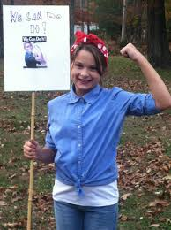 Rosie The Riveter Spirit Halloween by The Legacy Of Rosie The Riveter U201cwe Can Do It Pass It On
