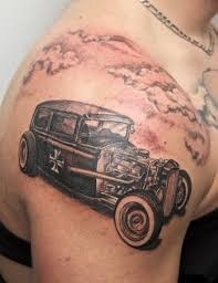 16 Classic Vintage Car Tattoos