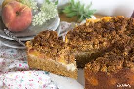 pfirsich pudding streuselkuchen mit teffmehl glutenfrei optional vegan