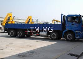 100 Truck Mounted Cranes Fast And Effective Hydraulic Crane For Transporting