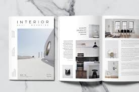 100 Modern Interior Design Magazine Minimal Templates Template