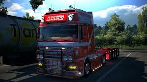 DAF XF 95 H.Weeda – Euro Truck Simulator 2 Mod | Euro Truck ...