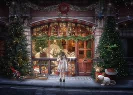 Store Window Christmas Yuletide Shop Displays Google Search Fronts Vintage Toy
