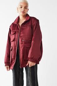 UO Dawson Bomber Puffer Jacket