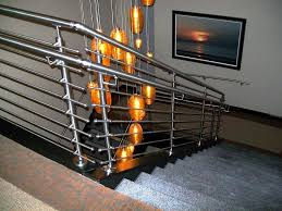 Modern Stainless Steel Stair Railing : Installing Stainless Steel ... Stainless Steel Handrail See Tips And 60 Models With Photos Glass Railing Fabricators In Shimla Manali Interior Railings Gallery Compass Iron Works The Sleek Design Of Stainless Cable Rail Systems Pair Well Modern Steel Stair Railing Installing Elements The Handrails Price Naindien Handrails Unique Designs Staircase Handrail Work Kochi Kerala Ernakulam Thrissur Systems Square Middle Post W