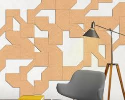 corkscapes are cut cork wall coverings carved from sheets of
