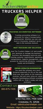 The Truckers Helper LLC Designed Owner Operator Bookkeeping Software ... Hot Shot Trucking Business Plan Template Electronic Logbook Keeptruckin Blog Page 2 Of 36 Dispatch Software The Biggest Mistake Owner Operators Make Solutions Transportation Management Best Payroll For Companies Truckfreightercom Trinium Program Is Answer To All Wants In Dr Easy To Use And Brokerage Industry Study Freight Startups Tracking Expenses Spreadsheet With Expense Report
