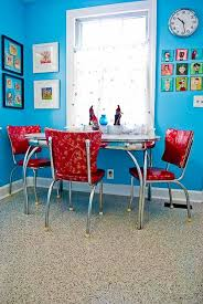 Brian Keris Happily Ever After 7000 Kitchen Remodel Red TablesVintage