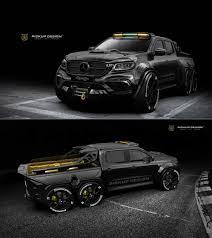 100 Mercedes 6 Wheel Truck Carlex Designs Exy Monster X Concept Is A Ed Benz