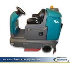 tennant t12 disk floor scrubber compact scrubber