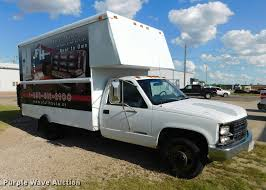 100 Rent A Box Truck 1999 Chevrolet 3500 Box Truck Item DB9488 SOLD June 21