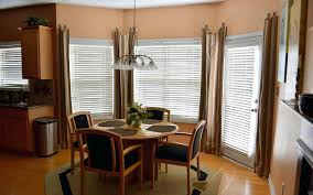 Dining Room Window Curtains Image Of Decorate A Bay Houzz
