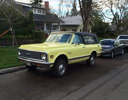 Curbside Classic: 1971 Chevrolet K5 Blazer – It Redefined The SUV Genre