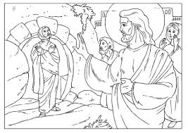 Lazarus Coloring Page 4 11 Best Images About On Pinterest