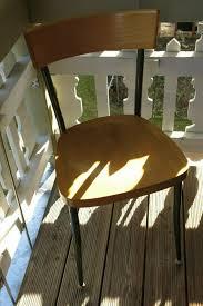 4 stühle aus holz metall ideal f küche büro wohn esszimmer