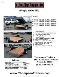 100 Used Trucks Fresno Ca Thompson Motor Sales New And Utility Rgo Enclosed Trailers