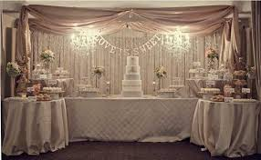 Gorgeous Wedding Dessert Table Love Is Sweet Champagne Blush Ivory White And Silver