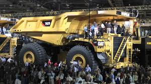 100 Largest Truck Caterpillars Largest Trucks On Display At Minexpo 2012 YouTube