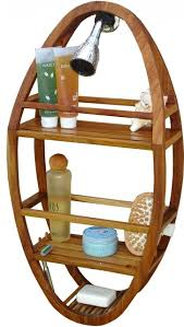 spa teak shower organizer contemporary shower caddies by