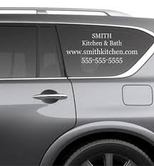 Amazon.com: Custom Business Decals For Vehicles - CREATE YOUR OWN ...