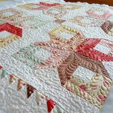 Longarm Quilting Services Boxy Stars Wall Hanging