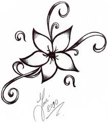 How To Draw An Easy Flower Step