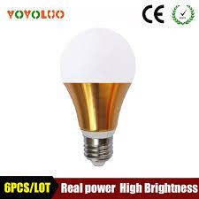 shop yoyoluo 6pcs lot led bulb e27 3w 5w 7w 9w 12w 220v