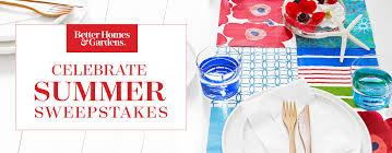 Better Homes & Gardens Celebrate Summer Sweepstakes FamilySavings
