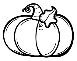 Animation Pumpkin Clipart Black And