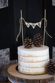 Rustic Woodland First Birthday Party Ideas