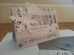 An Uneven Textured Edge To The Card Added Winter Inspired Language And Sparkly Ribbon Snowflake Transformed A Unique