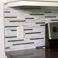 Smart Tiles Peel And Stick by Smart Tiles Metro Grigio 11 56 In W X 8 38 In H Peel And Stick