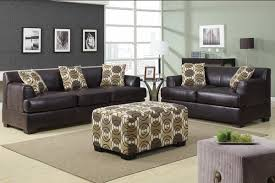 Dark Brown Couch Decorating Ideas by Living Room With Grey Walls And Brown Couch