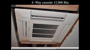 Lg Ceiling Cassette Mini Split by Daikin Ductless Air Conditioner Cassette U0026 Concealed Indoor