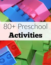 Over 80 Simple Learning Activities For Preschool Age Kids To Explore And Play While