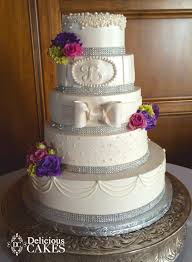 Delicious Cakes Dallas Wedding Cake Total Elegance