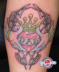 Irresistible Claddagh Tattoos 12