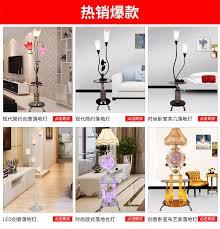 moderne schmiedeeisen kreative stehleuchte schlafzimmer
