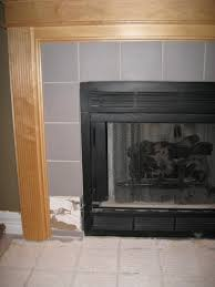 replacing fireplace tile building construction diy chatroom