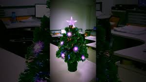 3ft Christmas Tree Pre Lit by Christmas Tree World 3ft Red U0026 Blue Colour Burst Fibre Optic