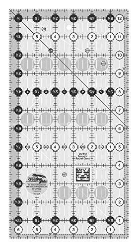 Creative Grids Quilt Ruler - 6-1/2in x 12-1/2in