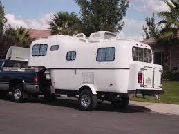 Highly Modified 1987 Scamp Fifth Wheel From Starling Travel