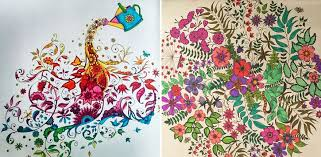 Coloring Books For Adults Secret Gardens