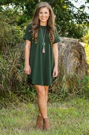 down to a t shirt dress olive new today the red dress boutique