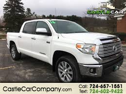 100 4wd Truck Used 2016 Toyota Tundra 4WD For Sale In New Castle PA 16105