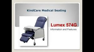 3 Position Geri Chair Recliner by Lumex 574g Medical Recliner Youtube