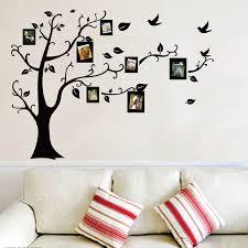 l arbre a cadre photo arbre cadre famille pour toujours la mémoire arbre stickers
