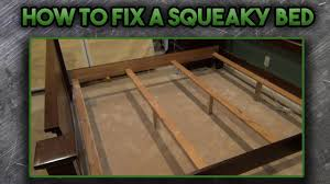 how to fix a squeaky bed youtube